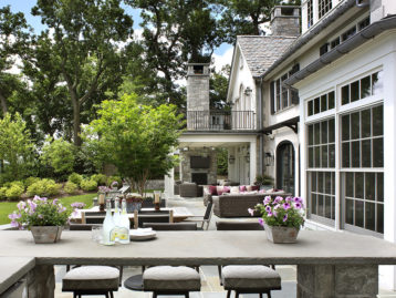 A patio design from Valerie Grant Interiors
