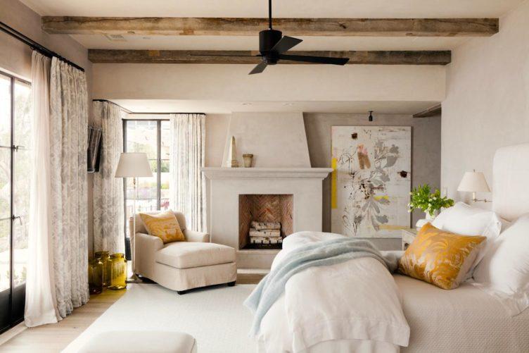 Cozy bedroom by M. Elle Design
