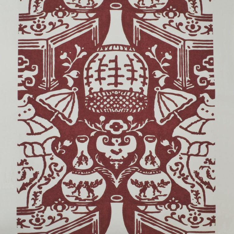 Vintage wallpaper from Clarence House