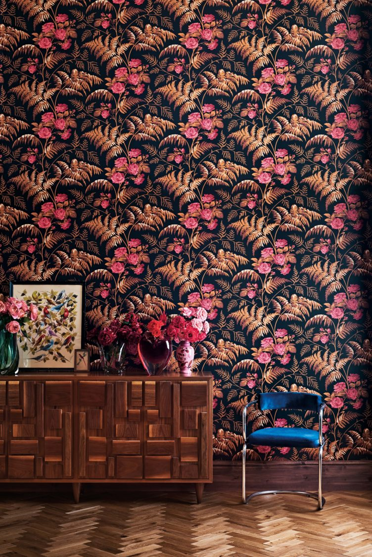 Vintage wallpaper from Cole & Son