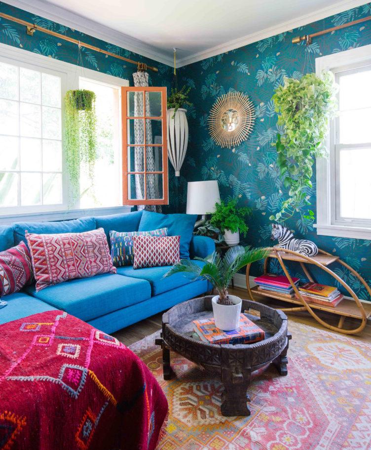 Justina Blakeney's Living Room