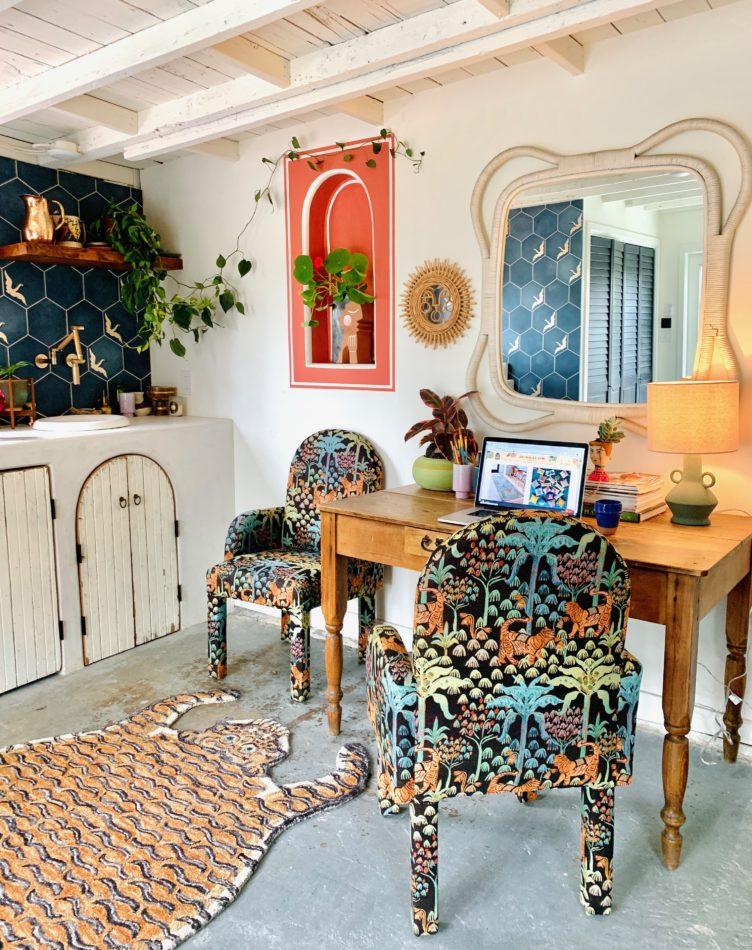 Justina Blakeney's Home Office