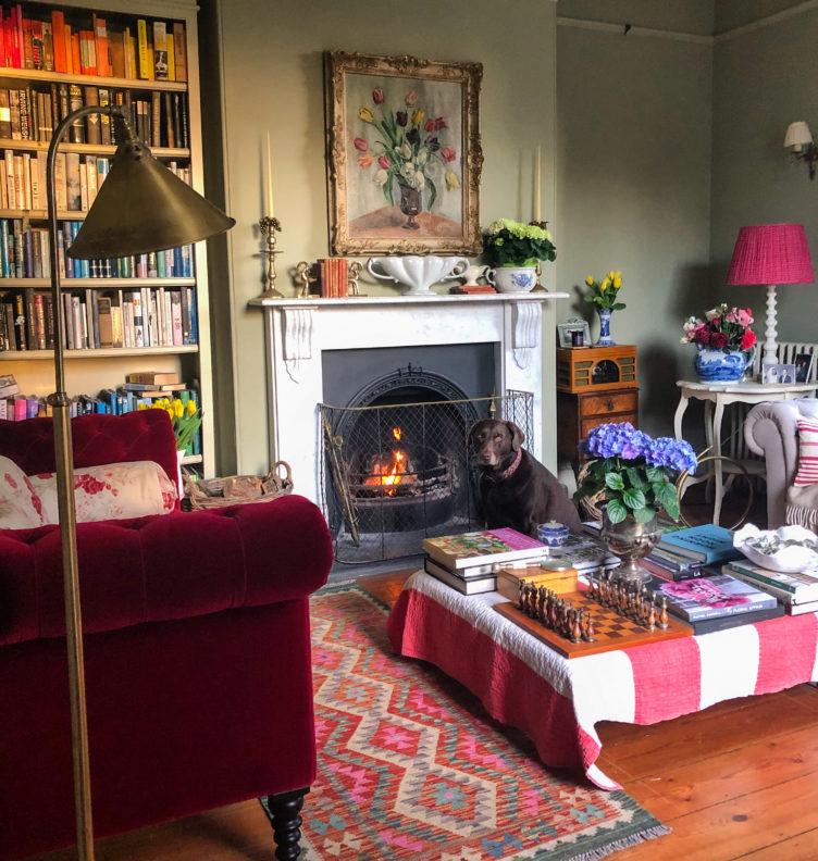 Paula Sutton sitting room