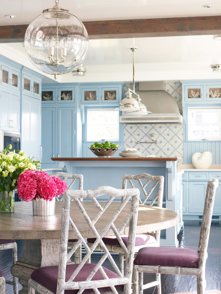 This image has an empty alt attribute; its file name is this-light-airy-kitchen-features-traditional-blue-.jpg
