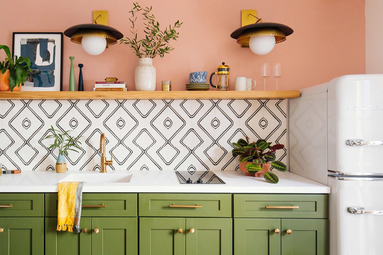 Dabito kitchen tile