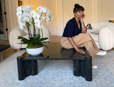 Brigette Romanek & An Iconic Coffee Table Find