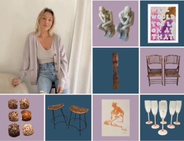Meg McMillin is Manifesting Vintage Finds