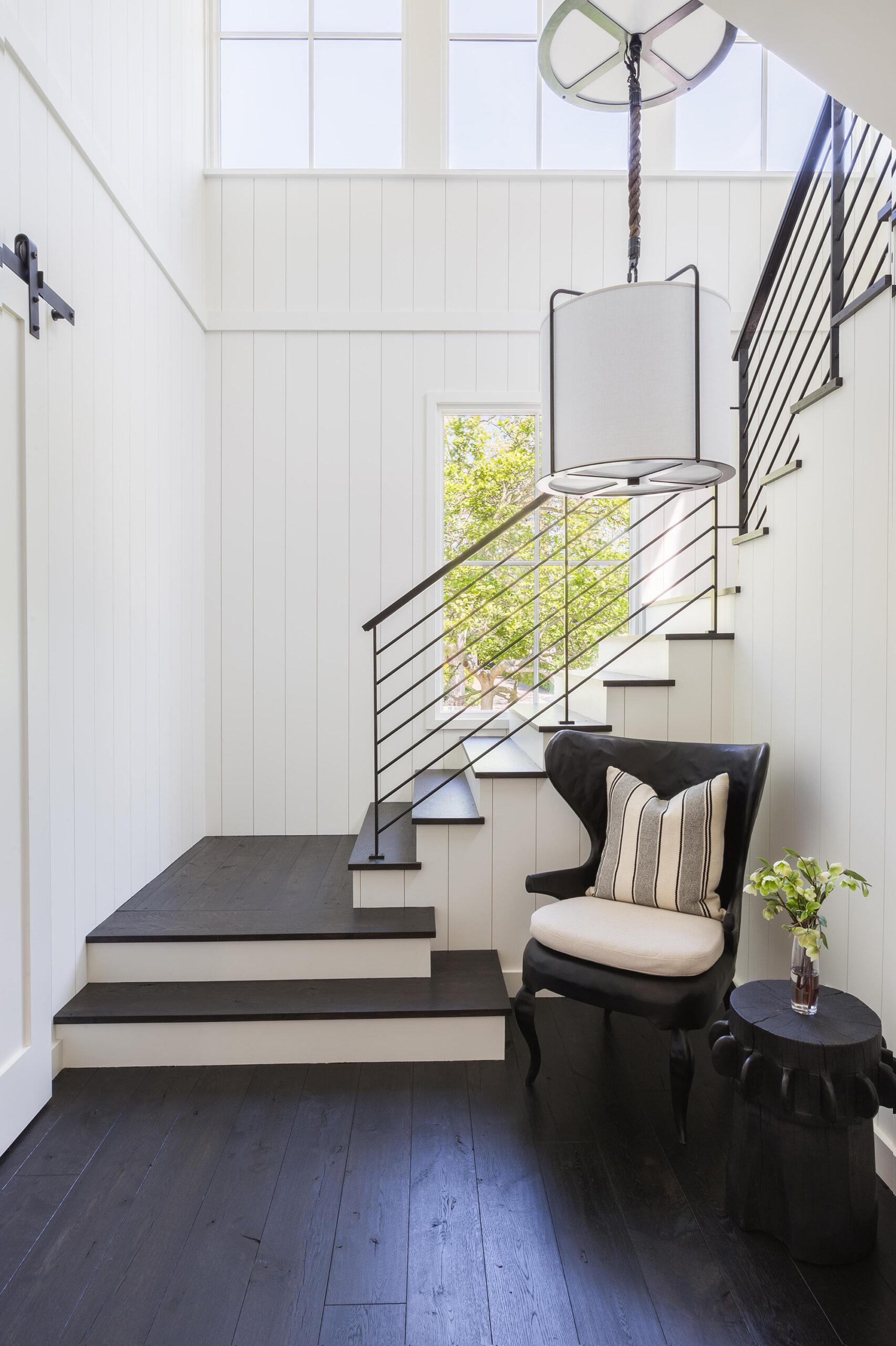 Jennifer Robin stairwell