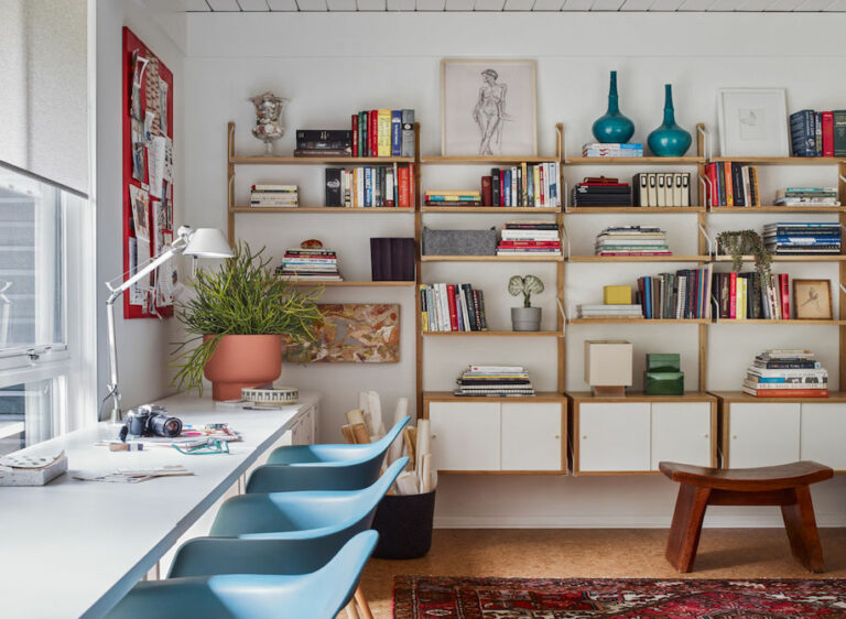 Check It Out! How To Style Your Home Library